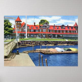 Larchmont New York Yacht Club Print