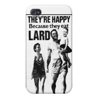 Lard Advertisement iPhone Case