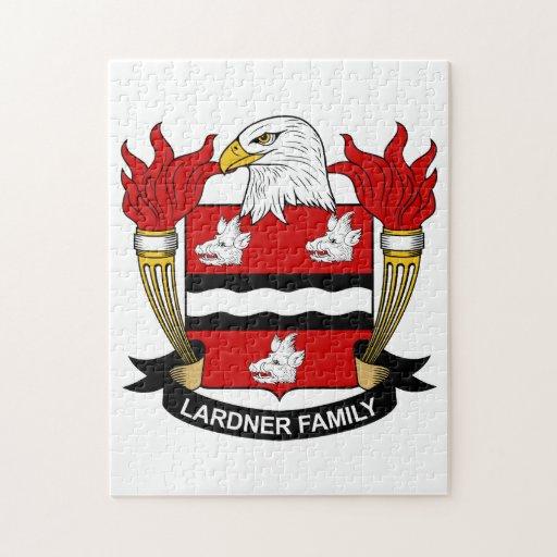 Lardner Family Crest Jigsaw Puzzle