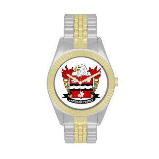 Lardner Family Crest Wristwatches