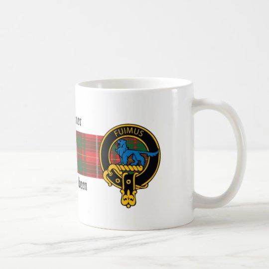 Lardner Scottish Crest and Tartan mug