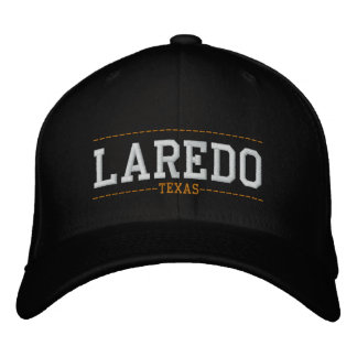 Laredo Texas USA Embroidered Hats