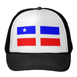 Lares Revolutionary Flag (Puerto Rico) Mesh Hats
