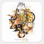 Larfleeze - Agent Orange 11 Square Sticker