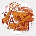 Larfleeze - Agent Orange 12 Classic Round Sticker