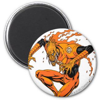Larfleeze - Agent Orange 1 Imán Redondo 5 Cm