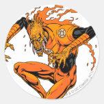 Larfleeze - Agent Orange 1 Round Stickers