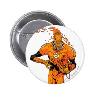 Larfleeze - Agent Orange 4 Pinback Button