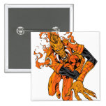 Larfleeze - Agent Orange 7 2 Inch Square Button