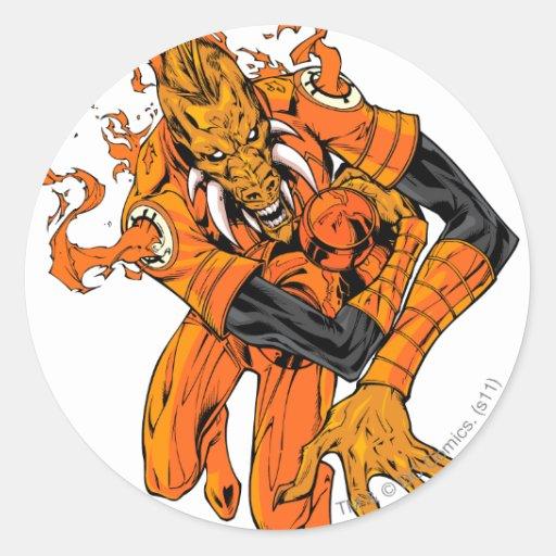 Larfleeze - Agent Orange 7 Classic Round Sticker