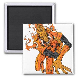 Larfleeze - Agent Orange 7 Imán Cuadrado