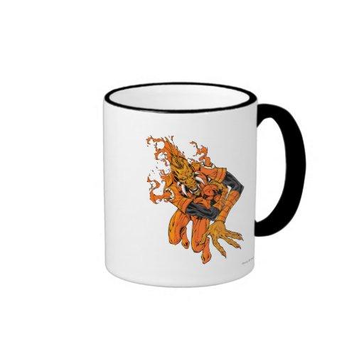 Larfleeze - Agent Orange 7 Ringer Coffee Mug