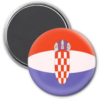Large 3 inch magnet - Croatia Croatian flag