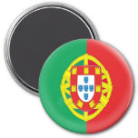 Large 3 inch magnet - Portugal flag