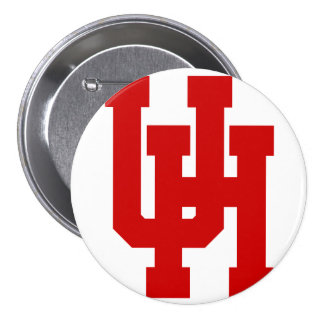 Large, 3 Inch Round Button UH Cougars