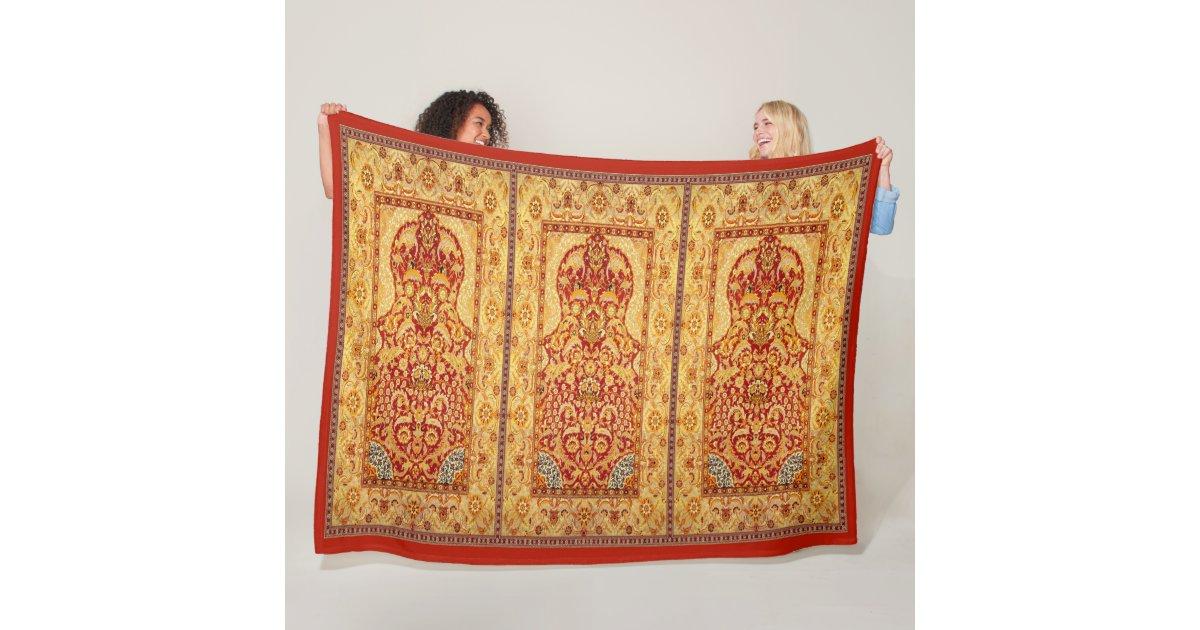 Muslim Prayer Rug 60 X80 Fleece Blanket