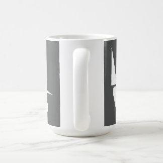 Large 444 ml Mug with White on Slate Logo