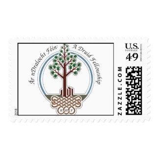Large ADF logo on stamp