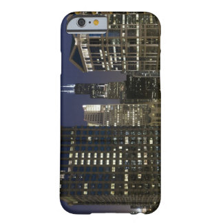 Large aerial view of downtown Chicago at dusk. Barely There iPhone 6 Case