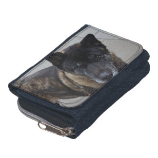 Large Akita Wallet