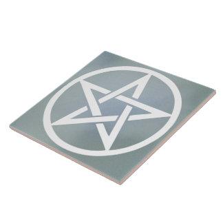 Large Altar Tile - Pentacle