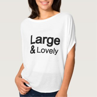 Large and Lovely loose-fitting shirt