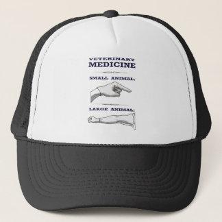 Large and Small Animal Veterinarian humorous Trucker Hat