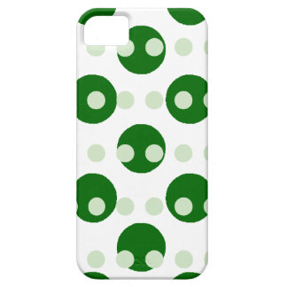 Large and Small Green Polka Dots iPhone SE/5/5s Case