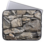 Large and Small Stones in a Wall Computer Sleeves