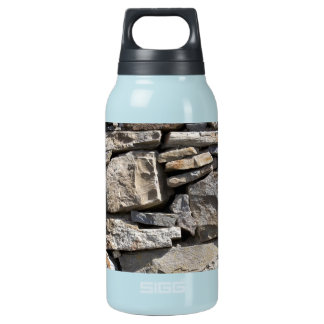 Large and Small Stones in a Wall Insulated Water Bottle