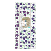 Large Anime Bookmark Personalized Rack Card