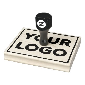 Large Any Shape Business Logo Rubber Stamp