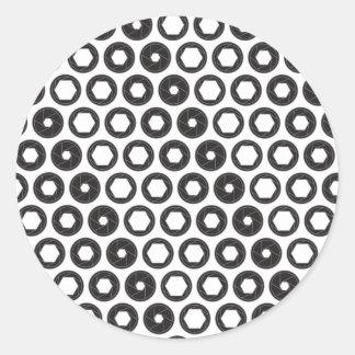 Large Aperture Classic Round Sticker