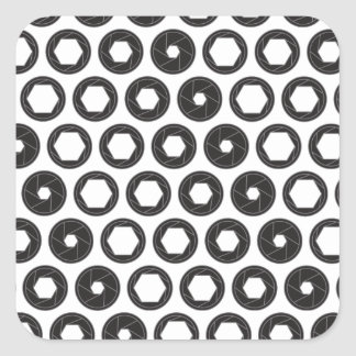Large Aperture Square Sticker
