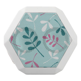 Large Assorted Leaves Teals White Pink White Boombot Rex Bluetooth Speaker