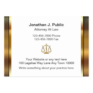 Large Attorney Business Cards