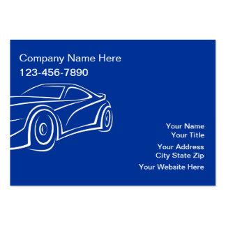 Large Automotive Business Cards