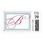 Large B Monogram Stamp