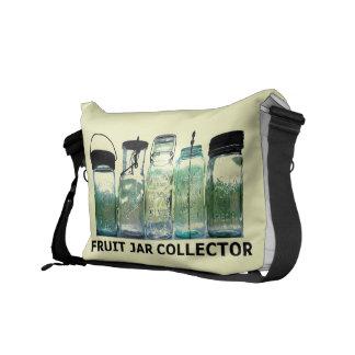 Large Bag - Fruit Jar Collector Vintage Mason Jars Messenger Bag