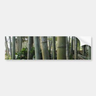 Large Bamboo Bumper Sticker