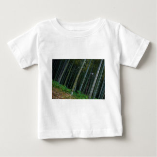 Large Bamboo Patch in Kyoto, Japan Baby T-Shirt