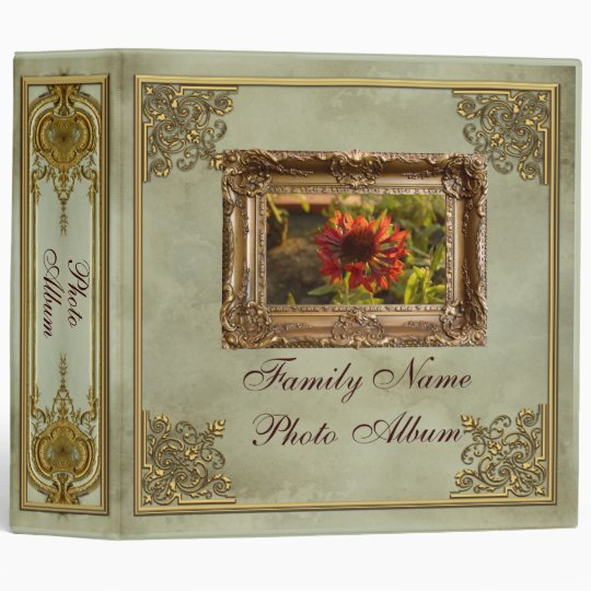 Large Baroque Photo Album - Binder