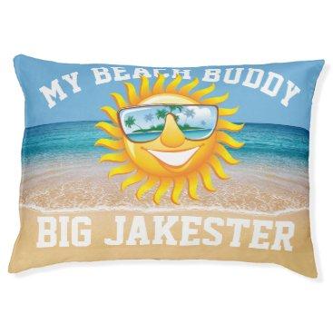 Beach Themed Large Beach Buddy Dog Bed
