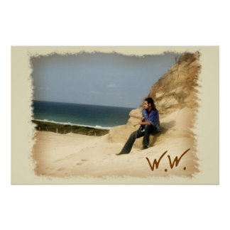 Large Beach Poster