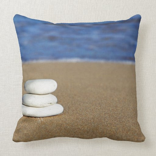 Large Throw Pillows For Couch : Large Beach Themed Throw Pillow Zazzle