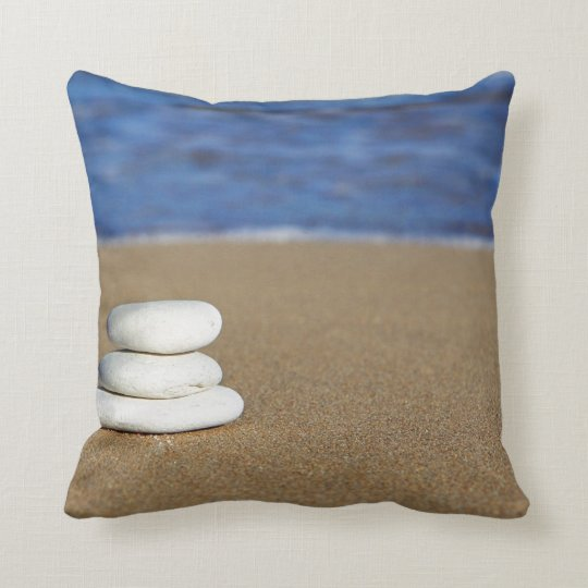 Large Beach Themed Throw Pillow Zazzle Com