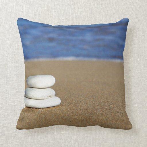 Large Beach Themed Throw Pillow Zazzle