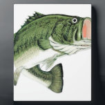 """Large Big Mouth Bass Plaque<br><div class=""""desc"""">For the angler in your life.</div>"""