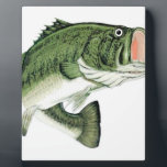 "Large Big Mouth Bass Plaque<br><div class=""desc"">For the angler in your life.</div>"