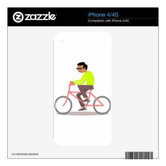 Large Bike iPhone 4 Decal